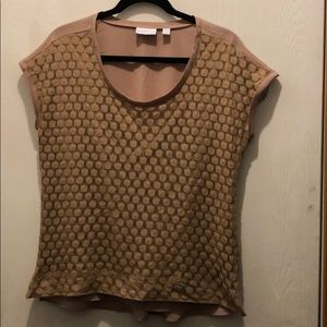 Light Brown New York & Company blouse